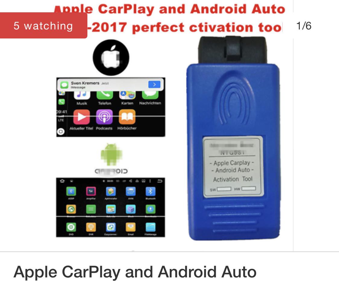 Apple car play - Mercedes GLA Forum