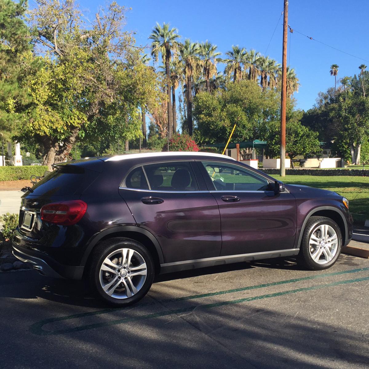 Northern Lights Violet Metallic Picture Thread Mercedes Benz Gla Forum