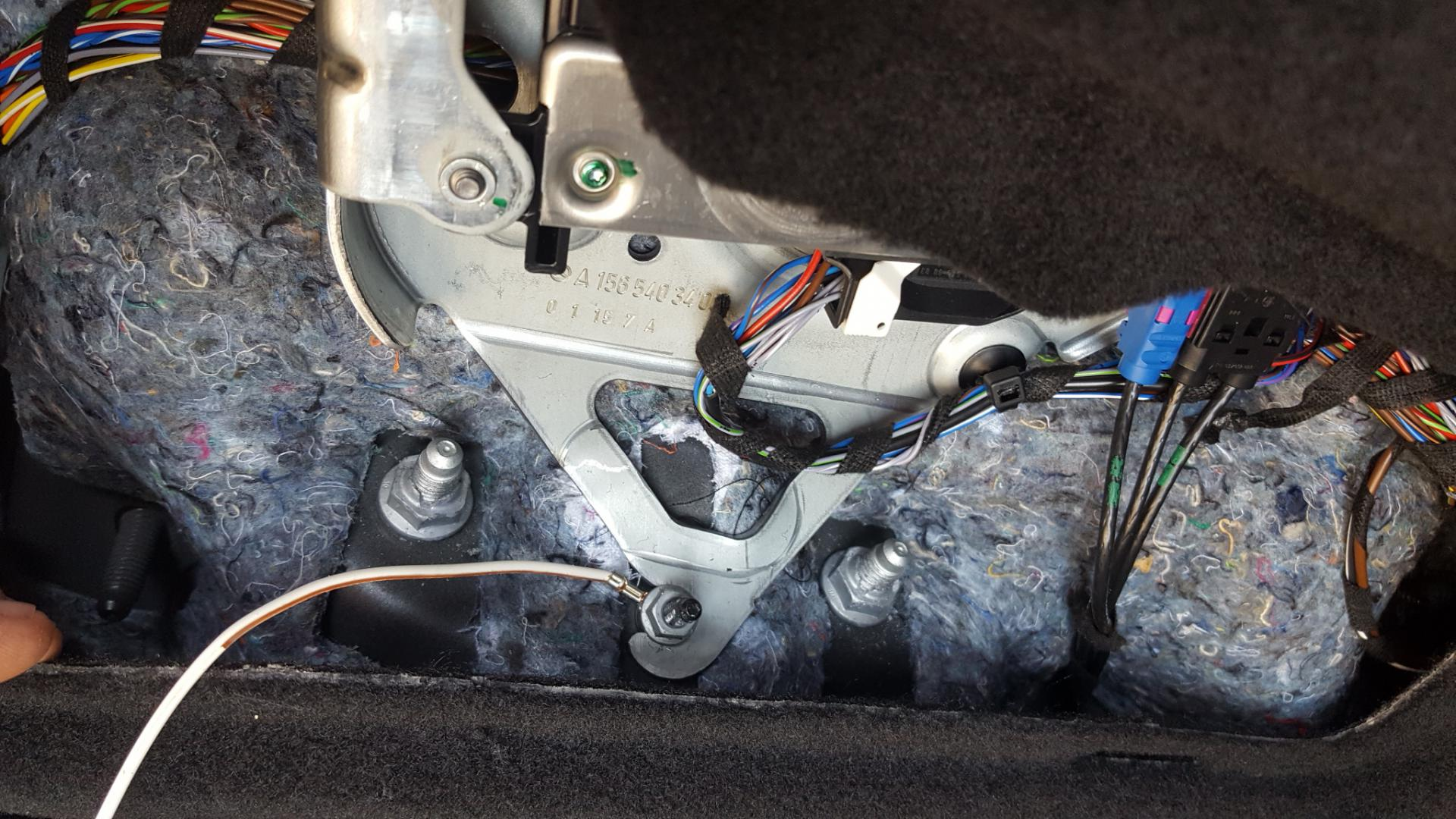 Mercedes Gla Hitch Wiring Thread