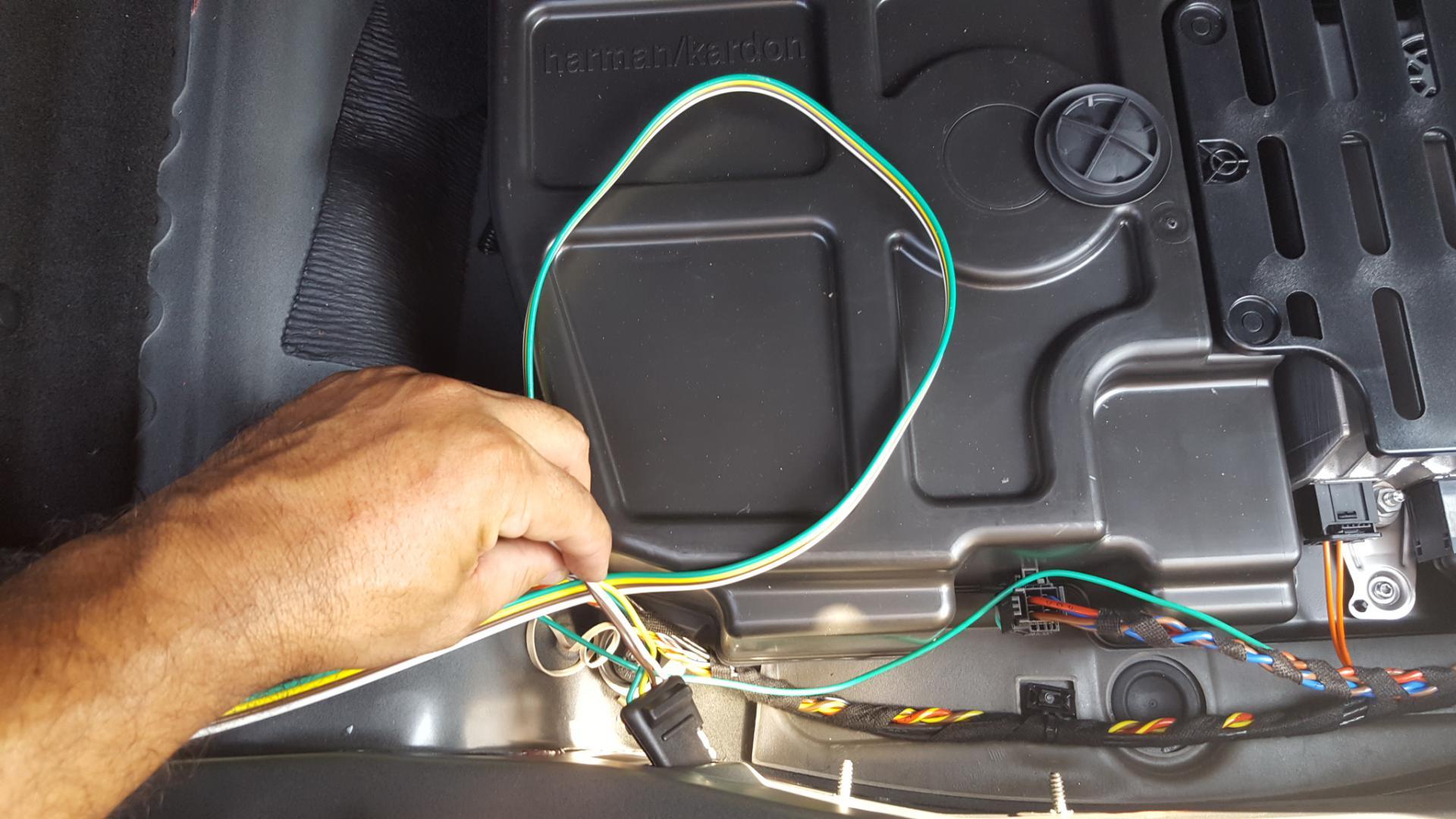 Mercedes GLA Hitch Wiring Thread - Mercedes GLA Forum