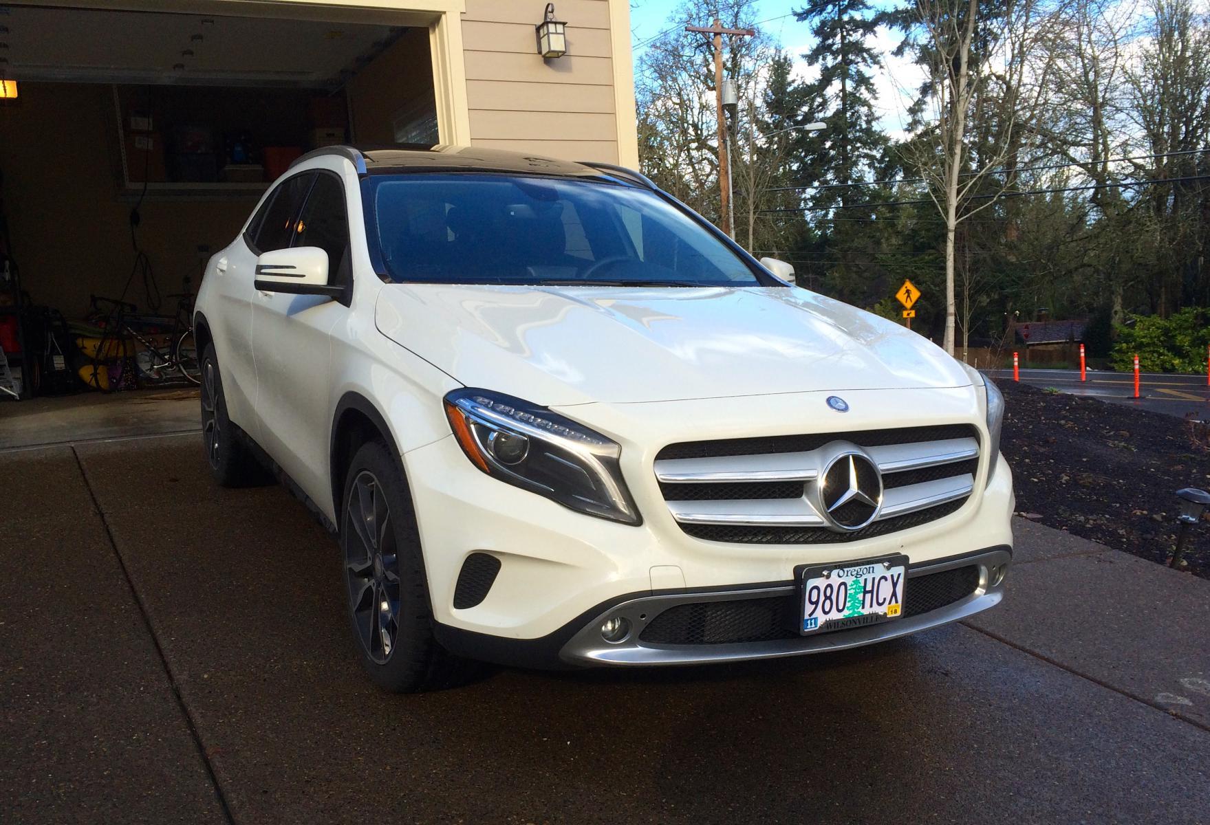 Front license plate or nah? - Mercedes GLA Forum