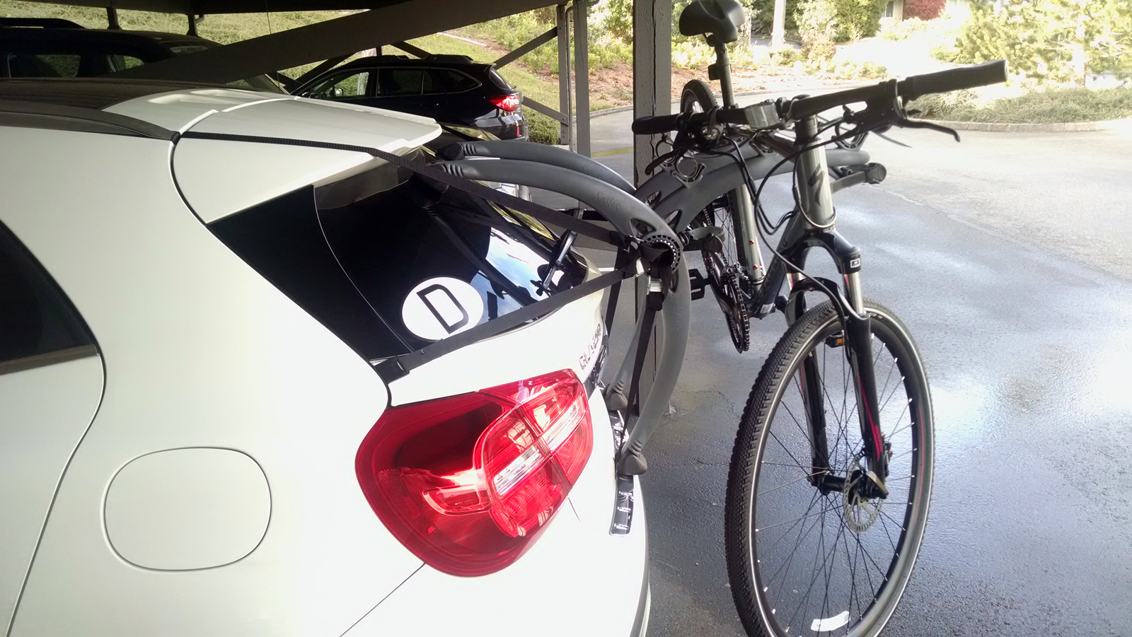 Mercedes European Delivery >> Carrying bicycles - Page 4 - Mercedes GLA Forum