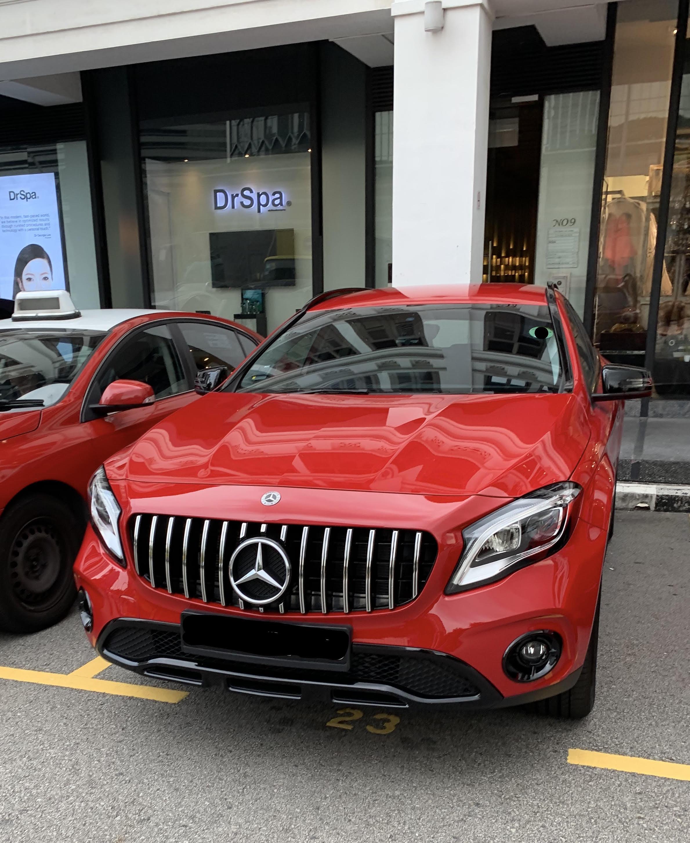 Aftermarket Grille Safe For Engine Mercedes Benz Gla Forum