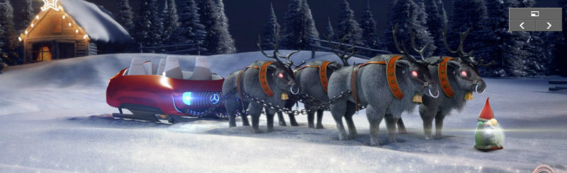 Santa's Mercedes–Benz Sleigh - Mercedes GLA Forum